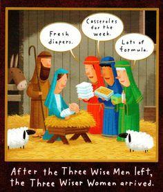The Three Wise Men hilarious cartoons] Three Wise Men, Wise Women, Christian Jokes, Christian Cartoons, Christian Faith, Church Humor, Religious Humor, Super Funny, The Fresh