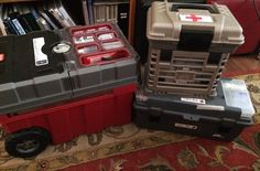 For years I had the same home-made First Aid Kit in a big long tackle box (pictured bottom right). I felt pretty good about it, but as time has gone on, I knew I needed to update it.  Upon looking …