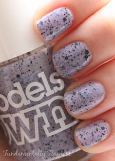 Fundamentally Flawless: Models Own Speckled Eggs Collection Swan swatch