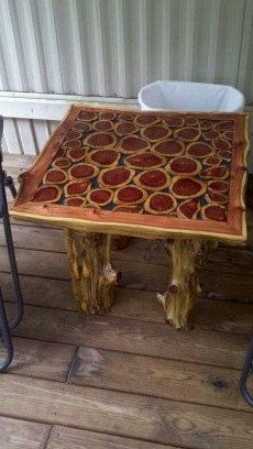 Rustic Cedar Wood table