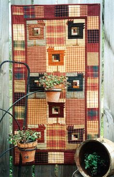 Country Threads :: Chicken Quilt Patterns :: On Behalf of Chickens Quilt Pattern