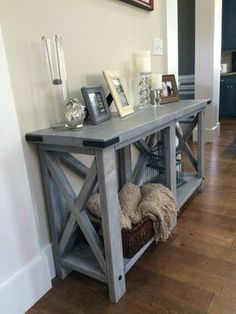 Custom built wood sofa table x x This piece is hand made from beautiful southern pine. It can be stained in your choice of Wood Sofa, Decor, Farmhouse Furniture, Wood Sofa Table, Sofa Table, Dining Room Table, Sofa Table Decor, Home Decor, Furniture