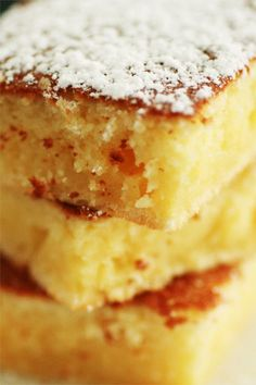 soft lemon cake
