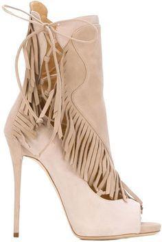 986476048b55 By Giuseppe Zanotti Design - fringed booties  SALE Giuseppe Zanotti Boots