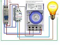 Esquemas eléctricos: temporizador horario electromecanico Electrical Installation, Electrical Wiring, Electronic Engineering, Electrical Engineering, Refrigeration And Air Conditioning, Electrical Circuit Diagram, Electric Circuit, Circuit Design, Power Strip