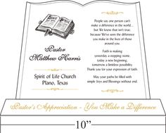 Sample invitation letters pastor anniversary pastors pastor anniversary tributes and sample wordings stopboris Image collections