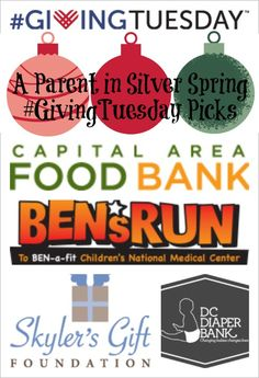 #GivingTuesday #DC picks && ways we can lend a hand!