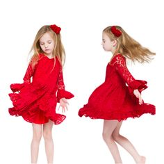 Nonna Bambini - Tulip Little Girls Lace Dress Red, $35.00 (http://www.nonnabambini.com/products.php?product=Tulip-Little-Girls-Lace-Dress-Red/)