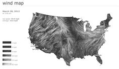 it's REALLY cool: Live interactive wind map shows flow patterns by @Your ex-boyfriend and @viegasf #dataVisualization