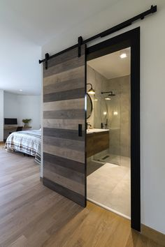 Apartment Renovation by Schema Architecture & Engineering HomeAdore Bedroom Closet Design, Home Room Design, Dream Home Design, Home Interior Design, Exterior Design, Door Design, Bedroom Wardrobe, Bathroom Design Luxury, Modern Bathroom Design