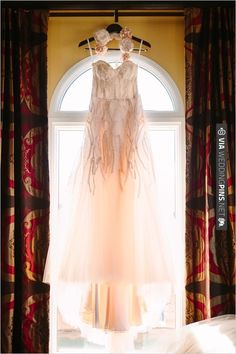 pink wedding dress by Monique Lhuillier | CHECK OUT MORE IDEAS AT WEDDINGPINS.NET | #bridesmaids