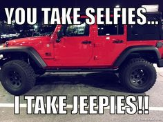 Say no to selfies. Say yes to Jeepies!