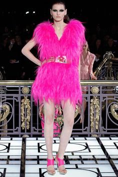 Atelier Versace Spring 2013 Couture Fashion Show - Karlie Kloss
