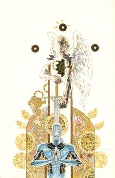 Saint Walker by David Mack! (Justice League of America variant cover). Green Lantern Comics, Blue Lantern, Pet Tarantula, Dbz Wallpapers, Dbz Drawings, David Mack, Dc Icons, Comic Art Community, Blue Beetle