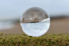 Hythe beach and the glass ball