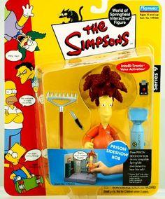 The Simpsons Series 9 Playmates Action Figure Prison Sideshow Bob The Simpsons