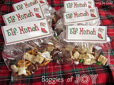 Elf Munch is a sweet Chex Mix perfect for Christmas. Chocolate, pretzels, and M&Ms make a mixed up mix perfect for gifting or parties with a free printable. Christmas Snacks, Christmas Goodies, Christmas Printables, Holiday Treats, Holiday Fun, Christmas Holidays, Christmas Gifts, Christmas Activities, Merry Christmas