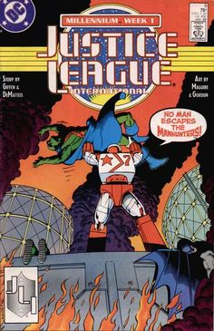 Justice League International Vol 1 9 - DC Comics Database