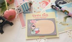 Pony Brown Kawaii Little Talk DON'T WORRY Sticker Notes/ Scrapbooking Stickers/30sheets