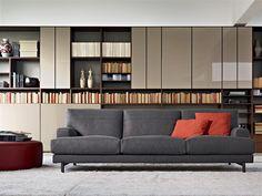 Llibreria combinada Molteni - Hug sofa