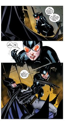 Batman & Catwoman. DC Rebirth Batman: I am Suicide. Cat and Bat