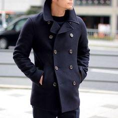 Burberry Men, Gucci Men, Winter Leather Jackets, Hermes Men, Winter Outfits Men, Blazers, Versace Men, Double Breasted Coat, Calvin Klein Men