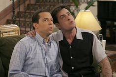 They killed who? TV shows that offed major characters- Charlie Harper killed off twice! - Two and a Half Men Two Half Men, Two And A Half, Half Man, Single Parenthood, Men Tv, Charlie Sheen, Visual Comfort, A Good Man, Movies And Tv Shows
