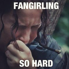 Me at the end of Catching Fire.