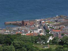 North Berwick, Scotland from North Berwick Law