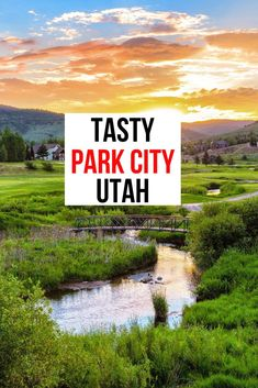 Visit beautiful Park City, Utah for all the wonderful outdoor activities but don't miss all the tasty creations there are to try in Park City. You will be surprised by all the delicious choices from around the world. #ParkCity #VisitUtah
