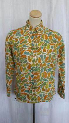 Vintage cotton shirt Vintage Clothing, Vintage Outfits, Vintage Cotton, Shirt Dress, Blouse, Mens Tops, Shirts, Clothes, Dresses