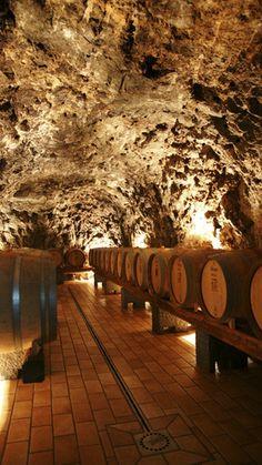 Wine cave, Napoli region, Campania                                                                                                                                                                                 More