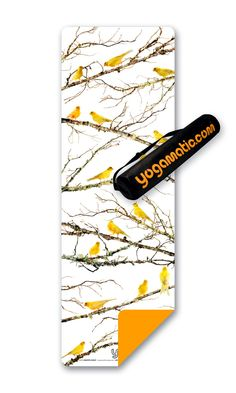 Canary Yoga Mat by YogaMatic $85.00