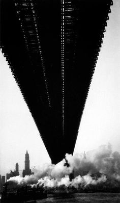 Brookyln Bridge by Walker Evans