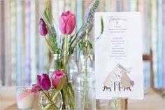 wedding menu ideas flowers by Eco-Chic Weddings www.ecochicweddings.co.za
