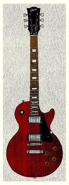Gibson Wine Red & Black (Black Pickguard).