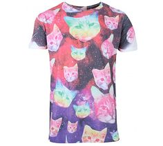 1000 images about cat related merchandise on pinterest for Galaxy white t shirts wholesale