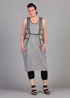 You won't believe me, but this looks ALL KINDS of amazing on.  Smudge Dress - TS14+