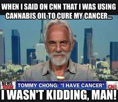 """""""I was diagnosed with cancer two years ago. ... I took a massive dose of hash oil and now I'm as healthy as the day I was born. No cancer..."""""""