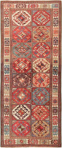 Antique Caucasian Kazak Rug 47568 - By Nazmiyal