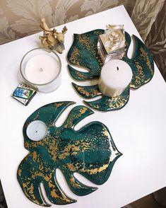 Diy Epoxy, Epoxy Resin Art, Diy Resin Art, Diy Resin Crafts, Wood Resin, Diy Crafts For Kids, Arts And Crafts, Decoration Bedroom, Art Diy