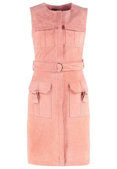 Suede blush tie waist shift dress - View All Dresses - Dresses - Dorothy Perkins Blazer Dress, Peplum Dress, Pink And Red Dress, Dress Red, Petite Outfits, Fashion Online, Two Piece Skirt Set, Suede Dresses, Dresses Dresses