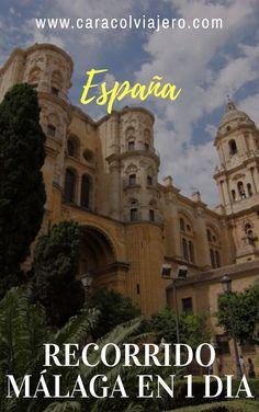 Málaga ciudad. Recorrido 24 horas para ver lo más emblemático. #Málaga #España #viajes Andalucia, Spain Travel, Malaga, Westerns, Places To Visit, Europe, Tours, Movie Posters, Charmed