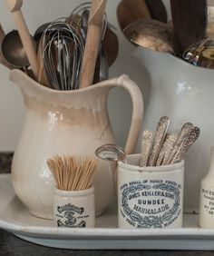 """2,606 Likes, 27 Comments - Marian aka Miss Mustard Seed (@missmustardseed) on Instagram: """"It's the little things... #antiques #ironstone #favoritefinds #mmshome"""""""