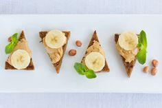 Banan + masło orzechowe