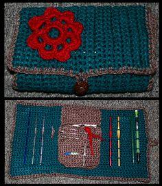 Crochet Hook Case || Free Pattern