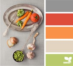 KAE says: love that slightly off combo of grey, tomato and orange