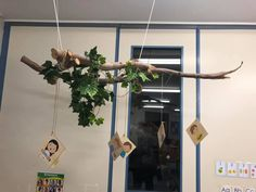 Childcare, Natural Materials, Plant Hanger, Wind Chimes, Outdoor Decor, Plants, Home Decor, Kids, Decoration Home