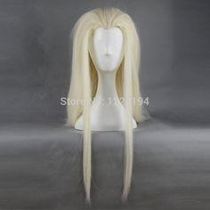 Hobbits The Lord Of The Rings Thranduil 78cm Length Women Dark Brown Long Wig