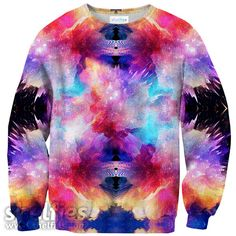 Galaxy Snap Sweater – Shelfies - Outrageous Clothing